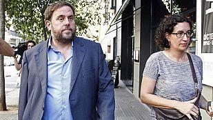 """ERC e ICV acuerdan pedir elecciones """"inmediatas"""" en Cataluña y buscan sumar a la CUP"""