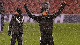 El Madrid, centrado en ganar en Anfield