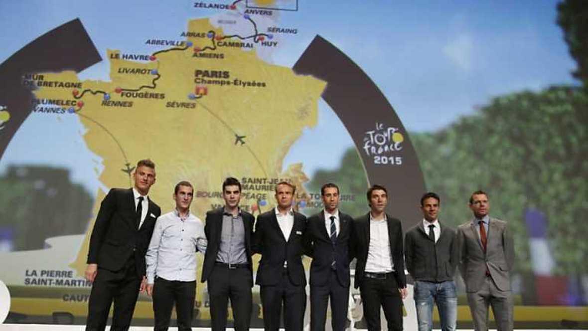 Ciclismo - Presentación Tour de Francia 2015 - Ver ahora