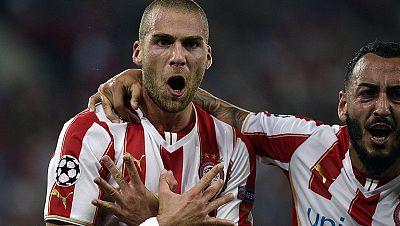 El Olympiakos es colíder del grupo del Atlético. Los de Míchel han convertido su estadio en una fortaleza. Ahí ya han caído el Atlético, el Manchester United y ahora también la Juventus.
