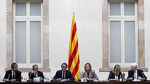 La Generalitat de Cataluña pone en marcha la campaña de la consulta alternativa del 9-N
