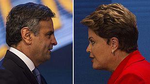 La corrupción protagoniza el último debate electoral en Brasil