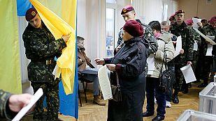 Ucrania elige a su Parlamento ocho meses después de Yanukóvich con el boicot del este