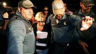 Primera noche en la cárcel de Mayte Zaldívar