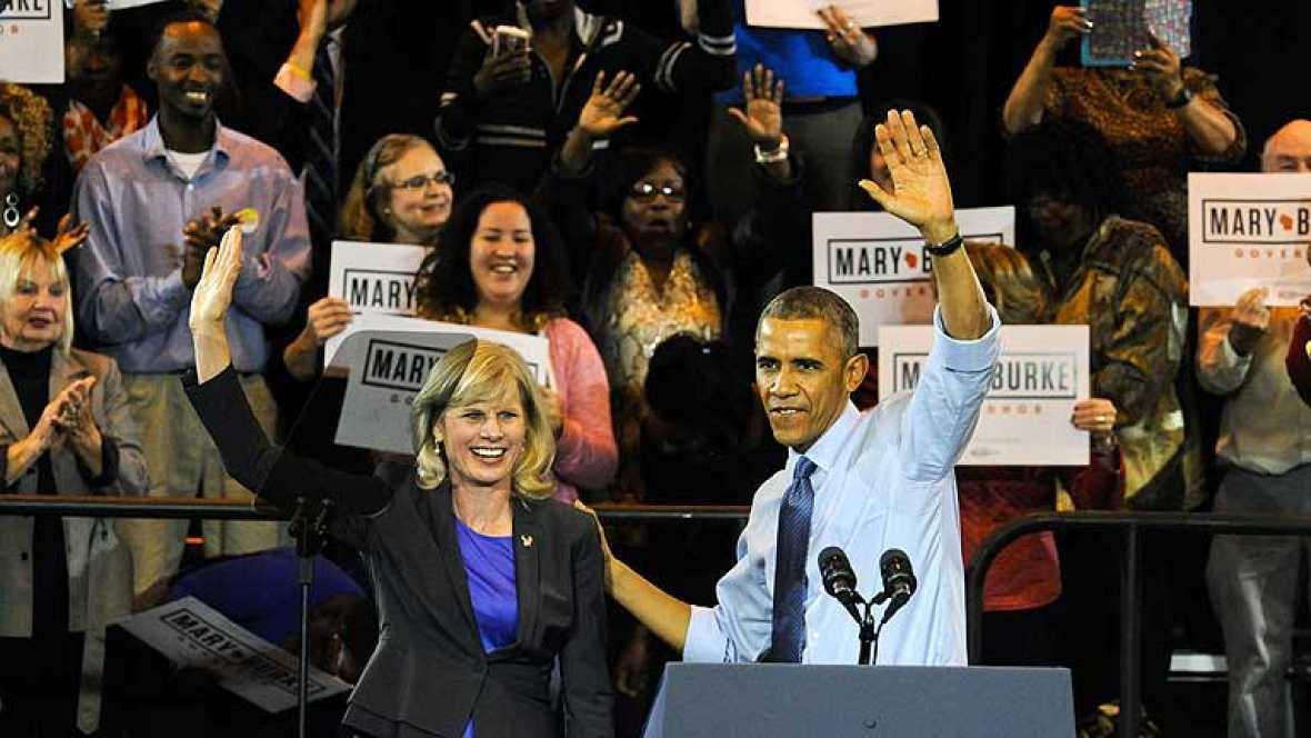 Las encuestas prevén malos resultados para el Partido Demócrata estadounidense