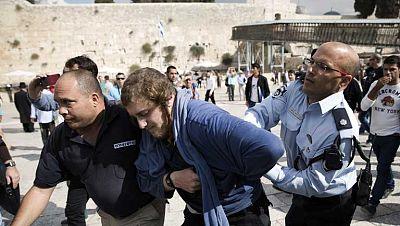 Enfrentamientos en Jerusalén después de que la policía israelí matara a un palestino