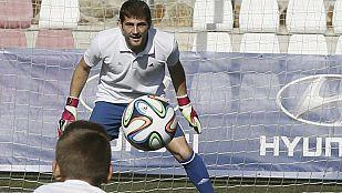 """Casillas quiere ver al Madrid líder """"antes de Navidad"""""""