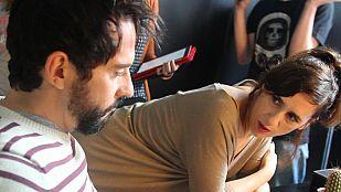 """Rodaje de la película """"Embarazados"""", de Juana Macías, con Paco León y Alexandra Jiménez"""