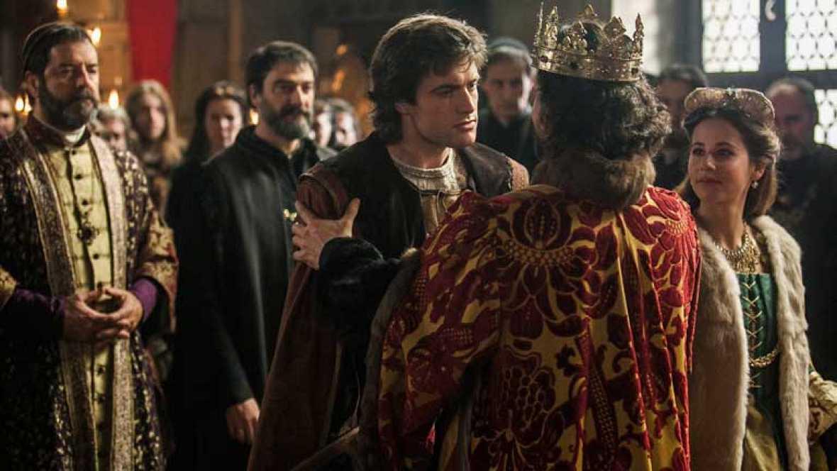Felipe y Juana llegan a Castilla
