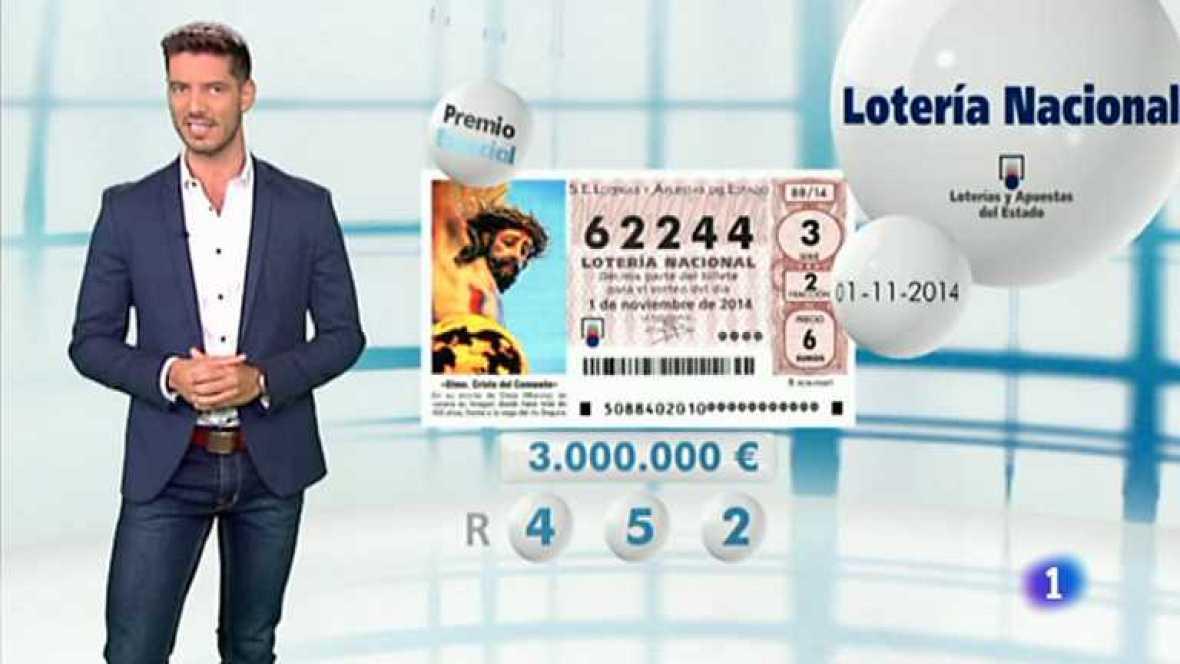 Lotería Nacional - 01/11/14 - Ver ahora