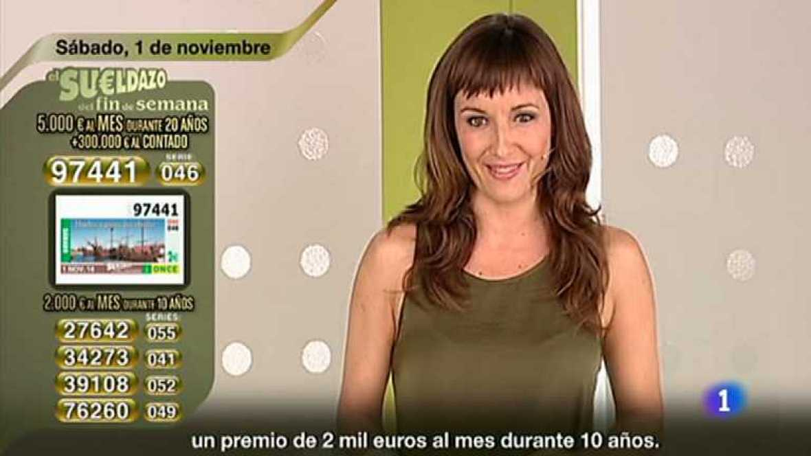 Sorteo ONCE - 01/11/14 - Ver ahora