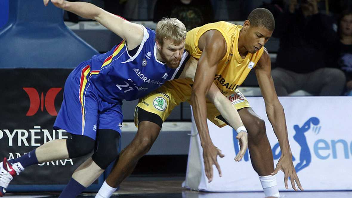 El MoraBanc Andorra se llevó un igualado partido contra el Herbalife Gran Canaria con hasta cinco jugadores por encima de los 15 puntos de valoración.