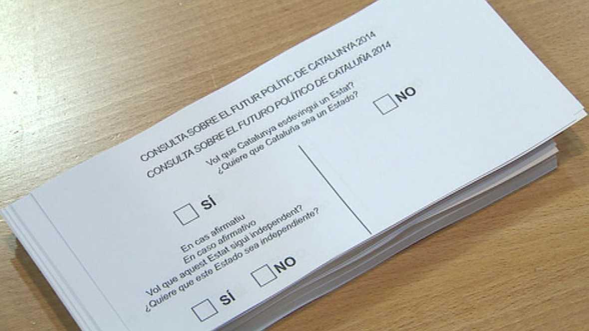 A falta de una semana para el 9-N CiU y ERC siguen con la campaña de la consulta