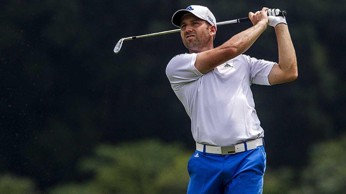 El golfista español Sergio García ha acabado tercero en el torneo CIMB Classic de Kuala Lumpur, donde se ha impuesto Ryan Moore con 67 goles, cinco bajo par.
