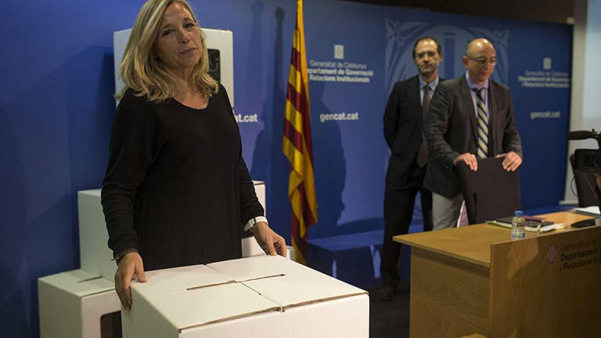 """Joana Ortega: """"no se puede asegurar al 100%"""" que el 9N habrá urnas"""
