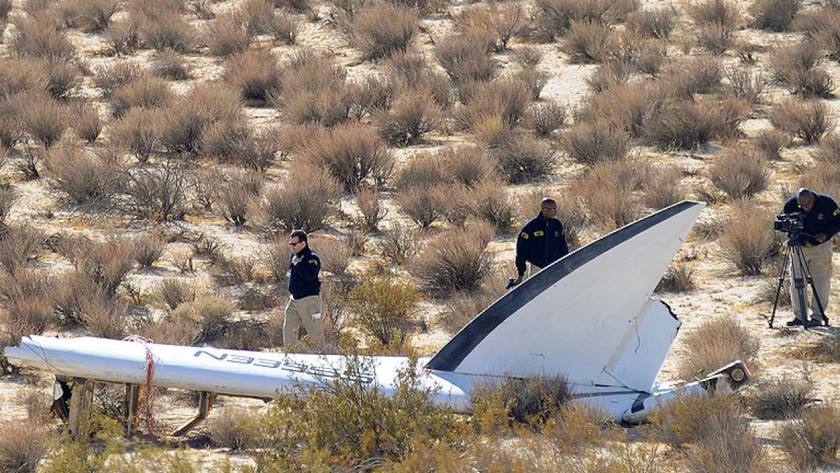 Virgin investiga los motivos del accidente de su nave espacial