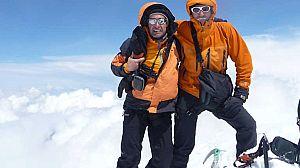 Esquí de travesia y escalada en Georgia