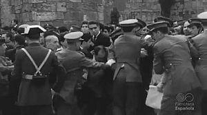 BARCELONA. ERA FRANCO 1939 - 1975. FRANCO LLEGA A BARCELONA