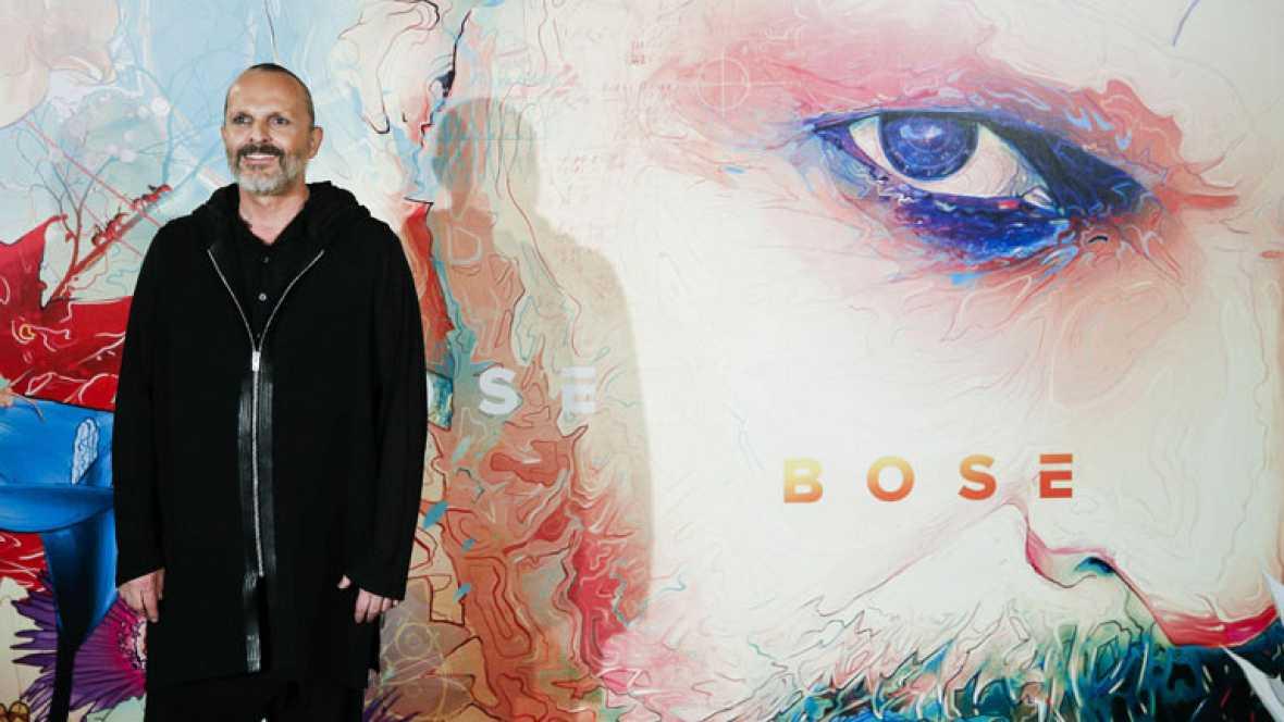"""Miguel Bosé presenta su nuevo trabajo, """"Amo"""""""