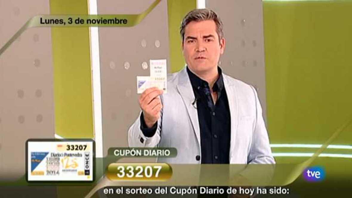 Sorteo ONCE - 03/11/14 - Ver ahora