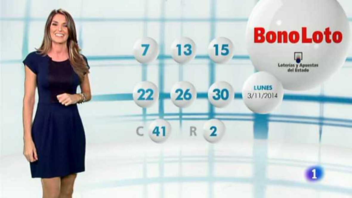 Bonoloto - 03/11/14 - Ver ahora
