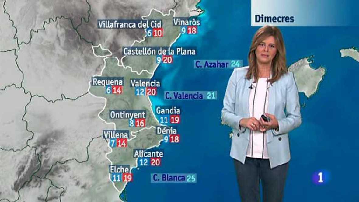 El tiempo en la Comunidad Valenciana - 04/11/14 - Ver ahora