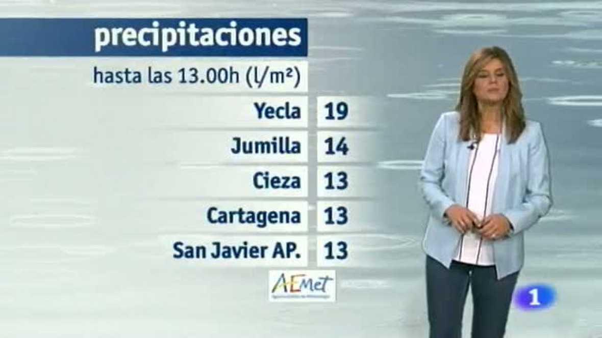 El tiempo en la Región de Murcia - 04/11/2014
