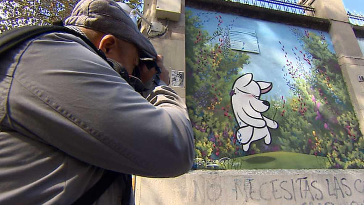 Nos invitan a seguir el rastro de grafitis y pintadas con unas curiosas visitas guiadas en Madrid