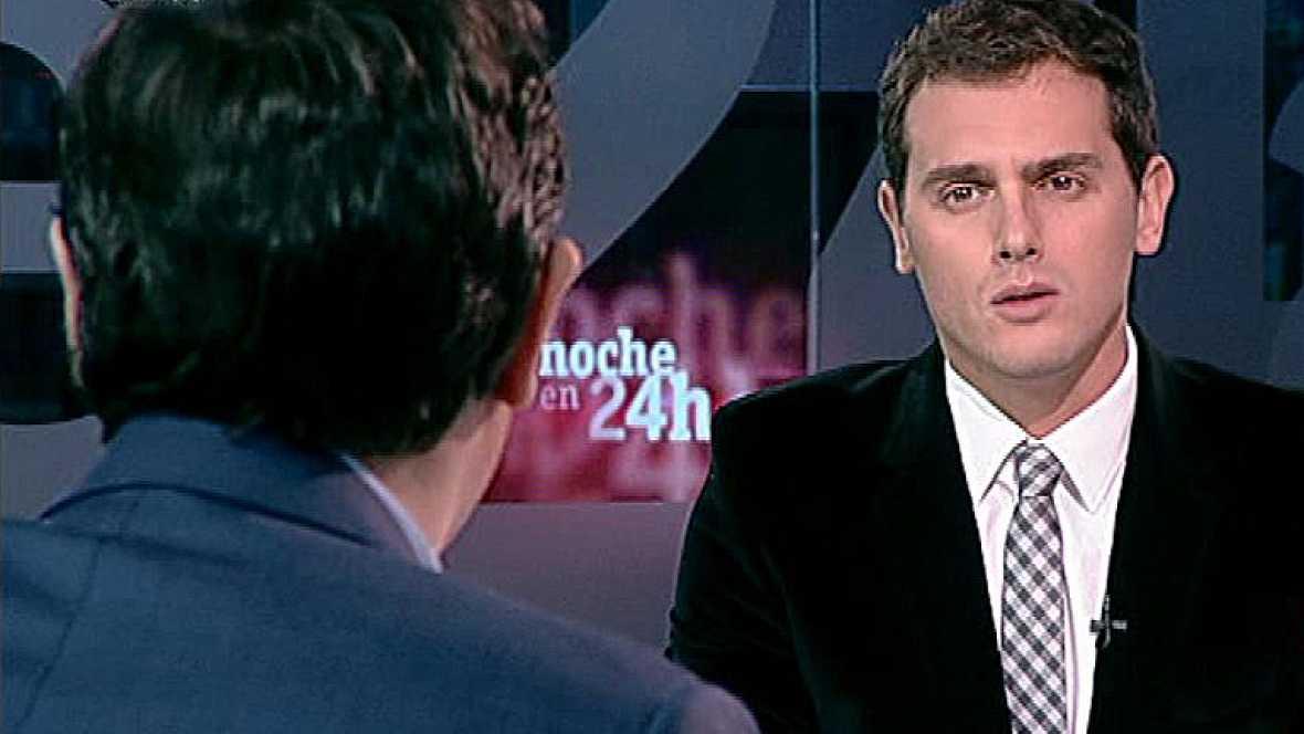 """Albert Rivera: """"Cualquier partido democrático acataría la sentencia del TC"""""""