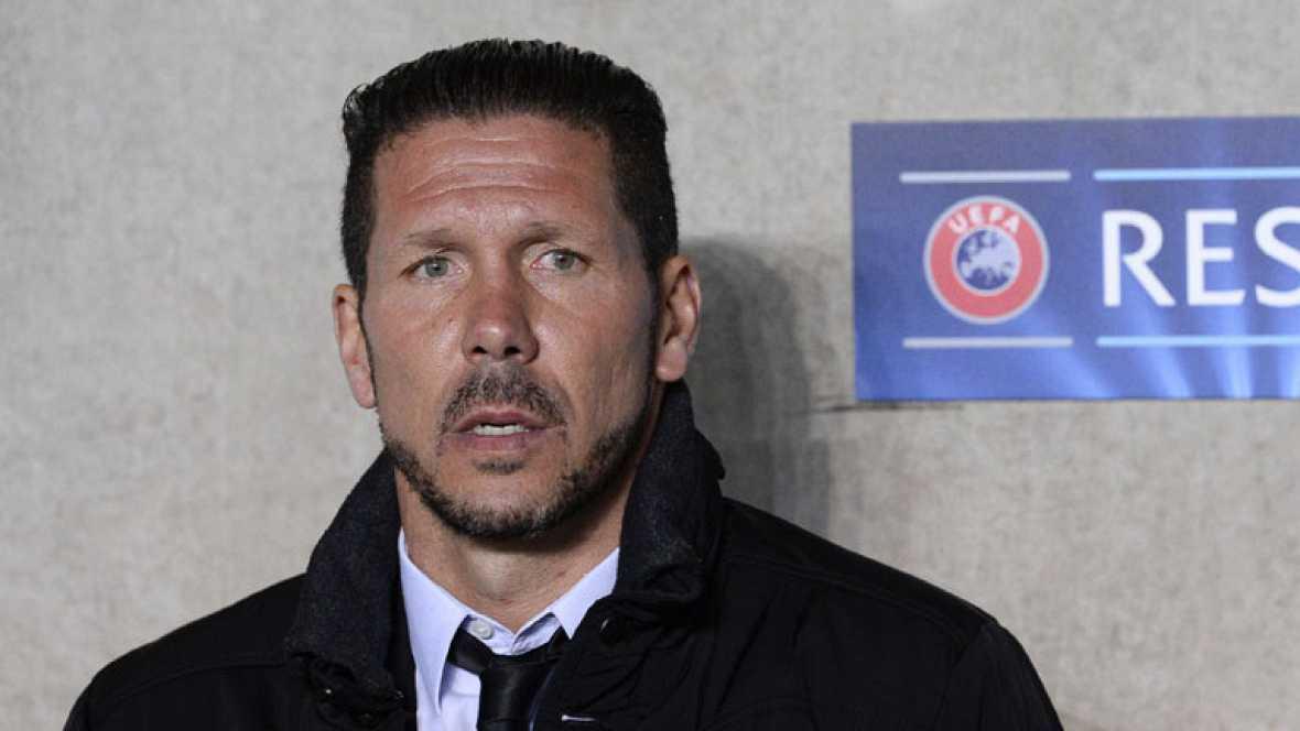 """""""Ha sido un partido extraordinario"""", ha valorado el entrenador del Atlético de Madrid, Diego Simeone, tras vencer por 0-2 al Malmö. """"Creo que lo comprendimos bien desde que arrancó... Ha sido un rival muy duro""""."""