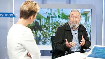"""Méndez, sobre la propuesta de las empresarios: """"En la economía sumergida, ellos tienen mucho que decir"""""""