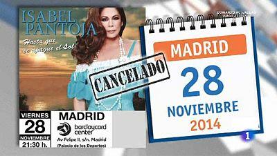 ¿Por qué ha suspendido Isabel Pantoja sus conciertos?
