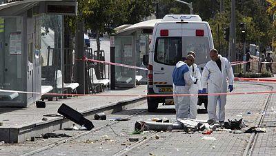 Un palestino simpatizante de Hamás atropella a varias personas en Jerusalén