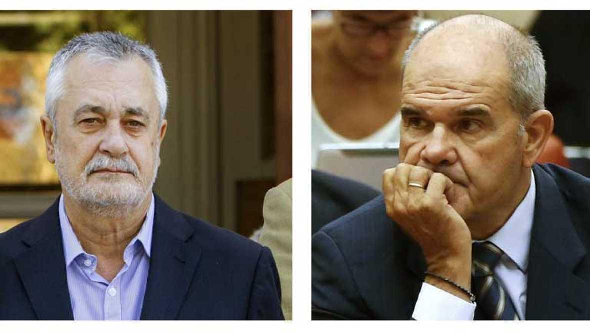 Manuel Chaves y José Antonio Griñán están a un paso de ser investigados por el Supremo