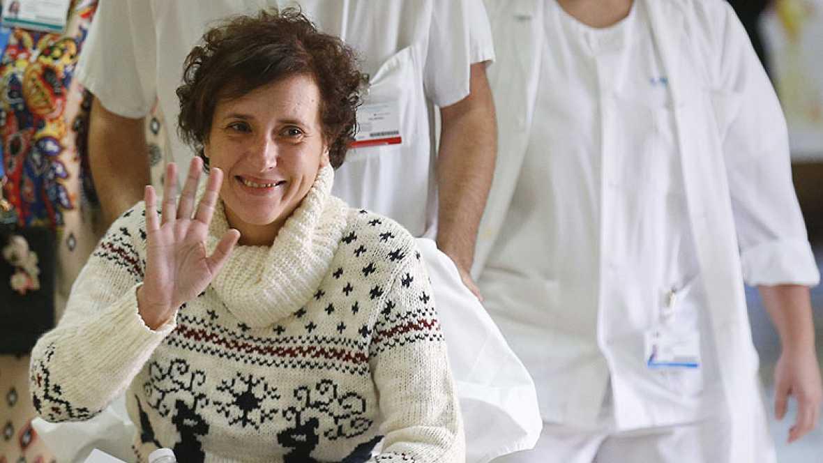 T con T - Teresa Romero recibe el alta hospitalaria
