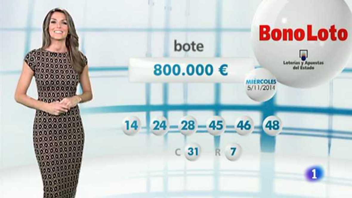 Bonoloto - 05/11/14 - Ver ahora