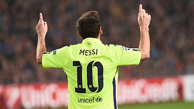 Messi sella el pase del Barça a octavos
