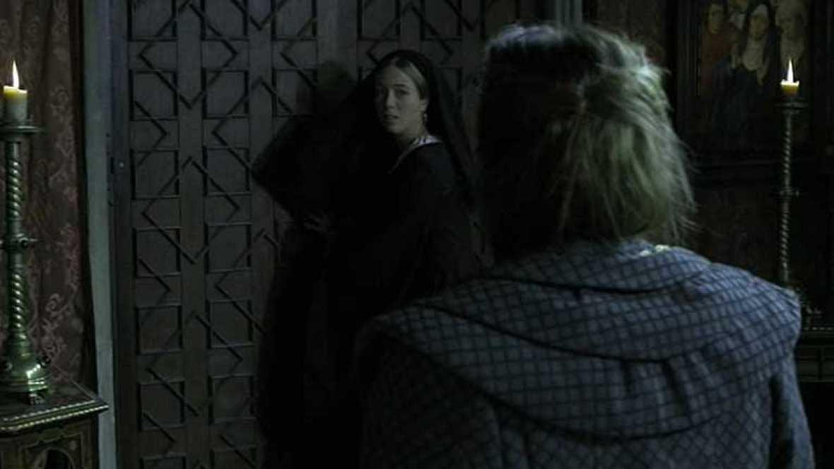 Juana amenaza a Beatriz de Bobadilla