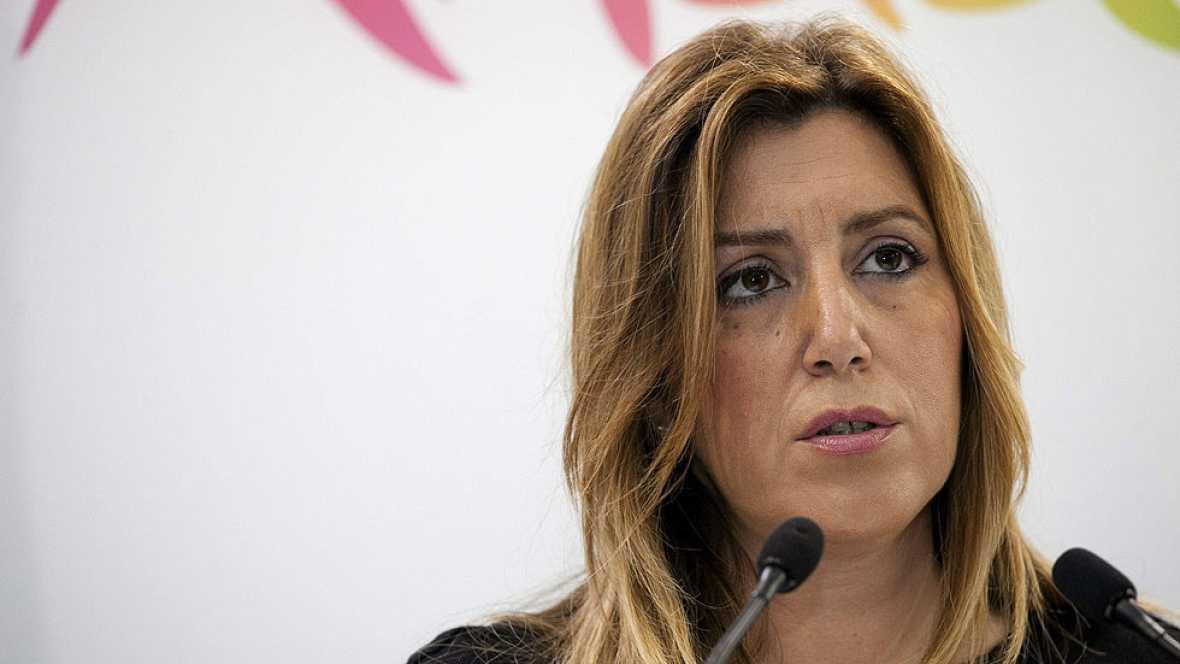 """Susana Díaz: """"Cualquier imputado tendrá que dejar su escaño"""""""