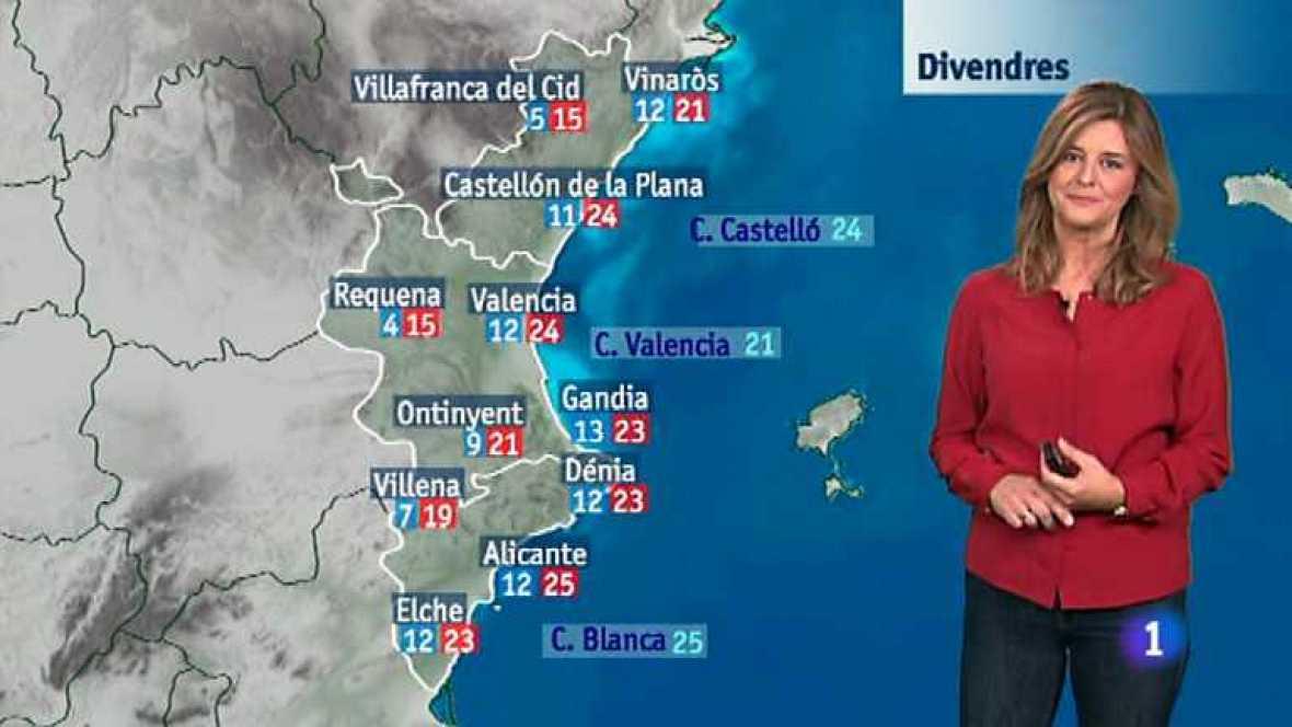 El tiempo en la Comunidad Valenciana - 06/11/14 - Ver ahora