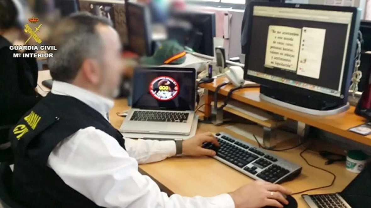 La Guardia Civil detiene a 10 personas por enaltecimiento del terrorismo a través de las redes sociales