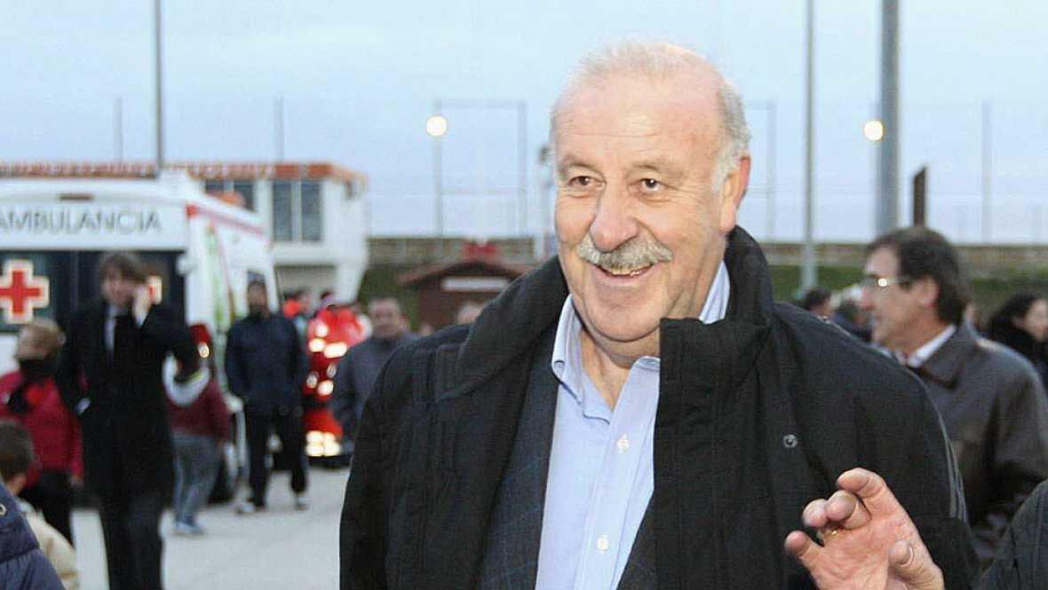 Del Bosque sigue confiando en Piqué