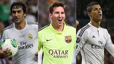 Hasta ahora ese título lo tenía Raúl, con 71 tantos en la máxima competición continental. Tras sus dos goles ante el Ajax Messi igualó está cifra y Cristiano está a solo uno de alcanzarlo. Así, esta Champions se presenta como un pulso espectacular en