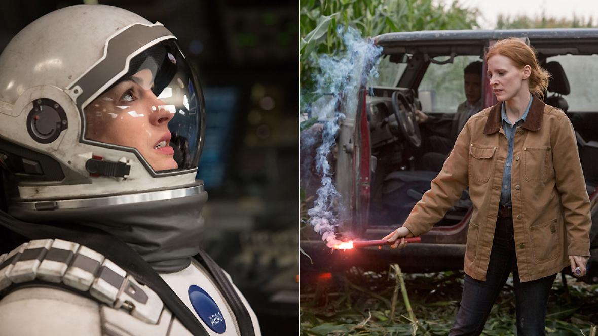 De película - 'Interstellar': Entrevista a Anne Hathaway y Jessica Chastain - Ver ahora