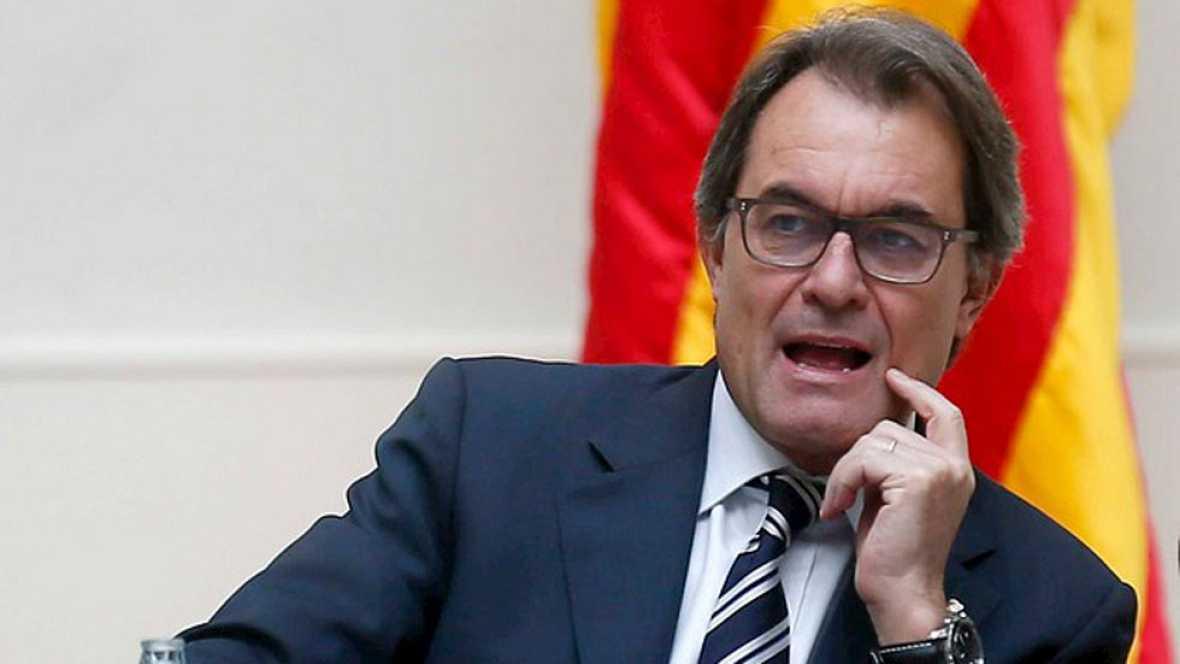 Artur Mas se pone al frente de la organización de la consulta alternativa
