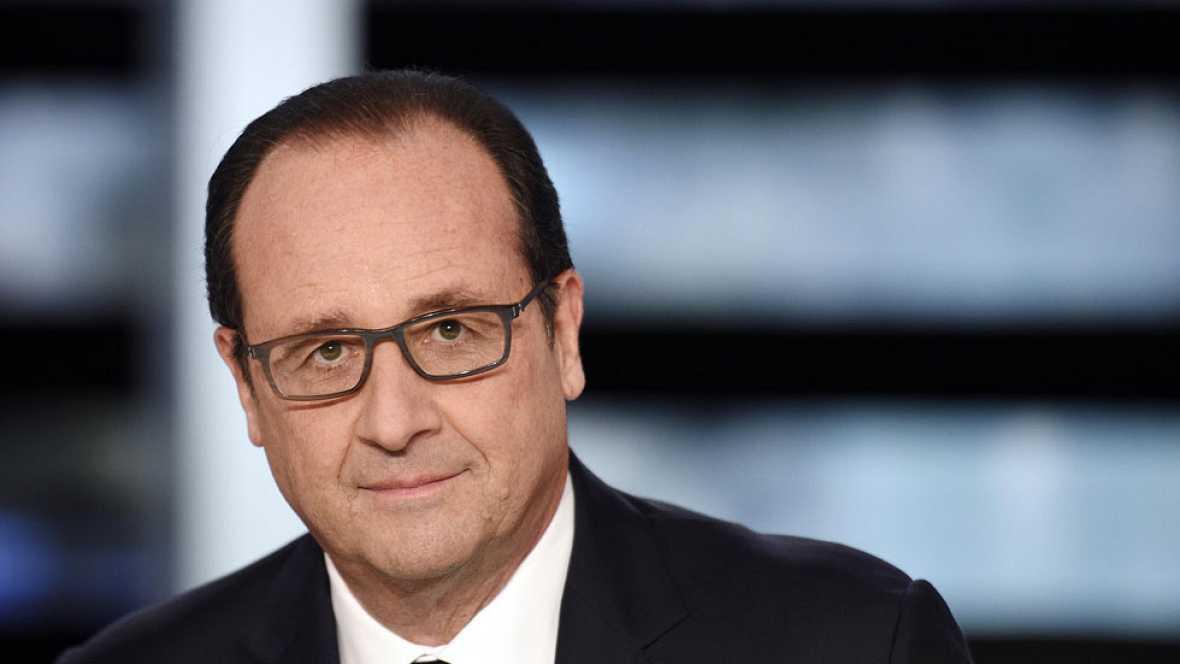 Hollande se compromete a no presentarse a la reelección si al final de su mandato no consigue reducir el desempleo