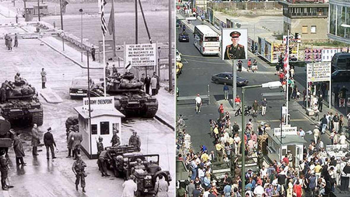 Veinticinco años después de la caída del muro, en Alemania hacen balance de lo que ha significado la reunificación