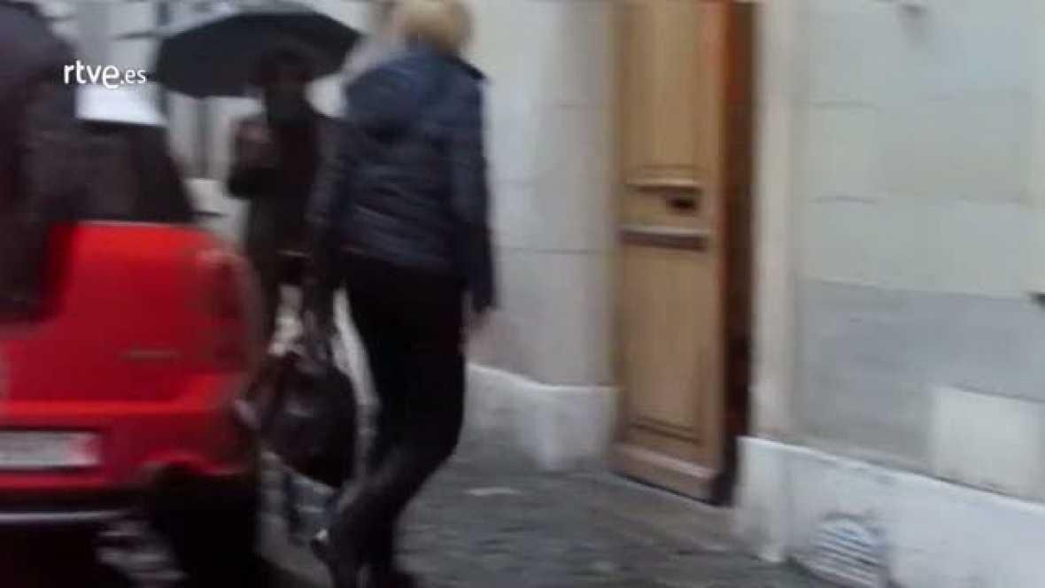 Primeras imágenes de la infanta Cristina tras conocerse que sigue imputada