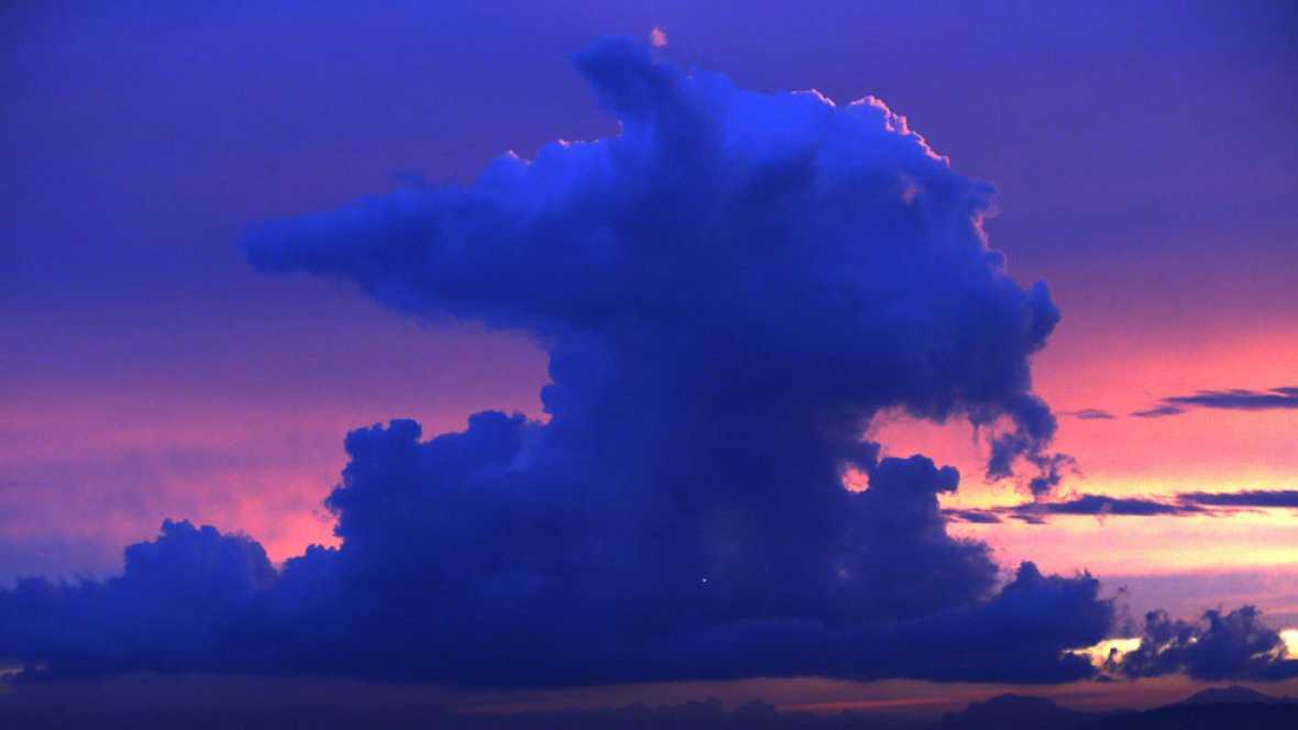 Precipitaciones localmente fuertes en el oeste del Sistema Central