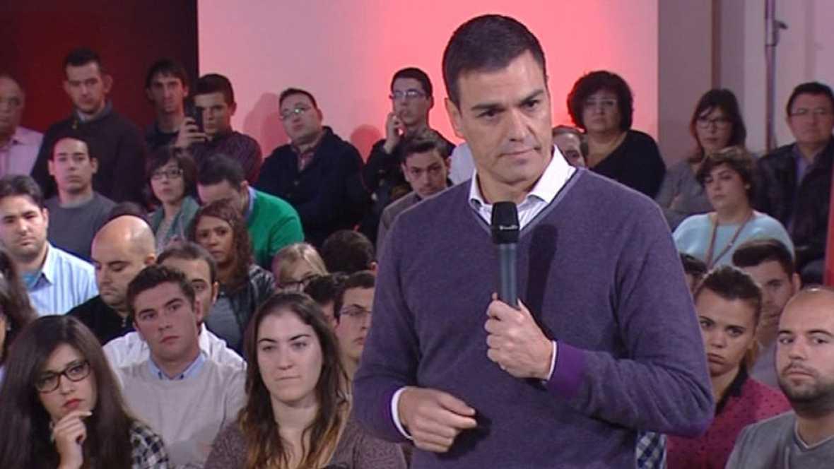 Pedro Sánchez insiste en que no quieren una Cataluña fuera de España